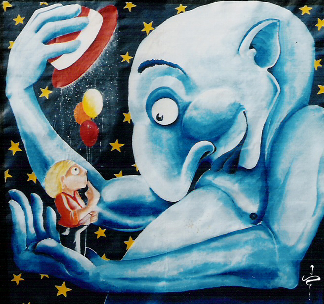 le génie bleu